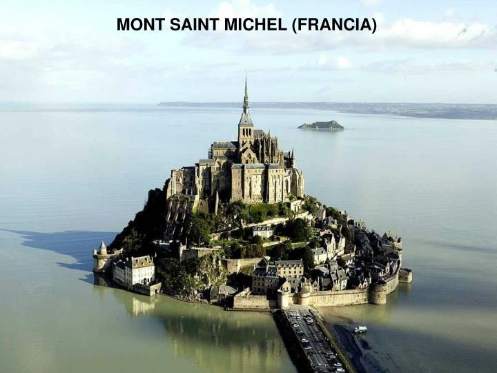 MONT SAINT MICHEL (FRANCIA)