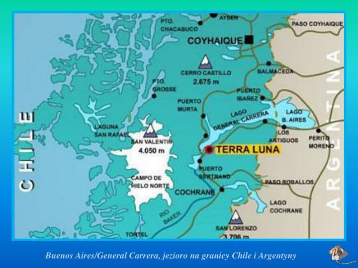 Buenos Aires/General Carrera, jezioro na granicy Chile i Argentyny