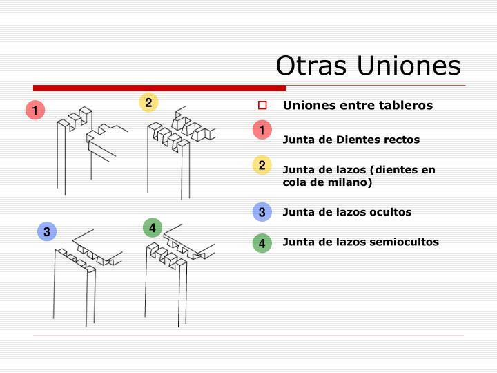 Otras Uniones