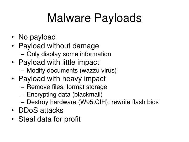 Malware Payloads