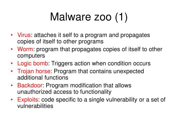 Malware zoo (1)