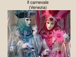 il carnevale venezia