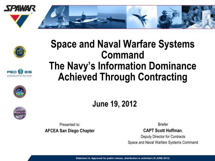 Space and Naval Warfare Systems Command