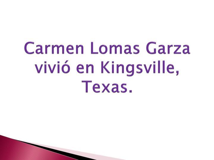 Carmen Lomas Garza