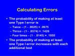 calculating errors1