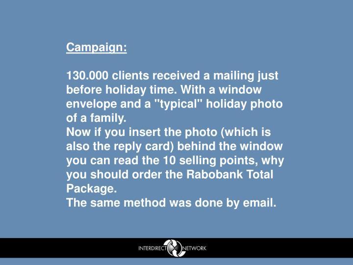 Campaign: