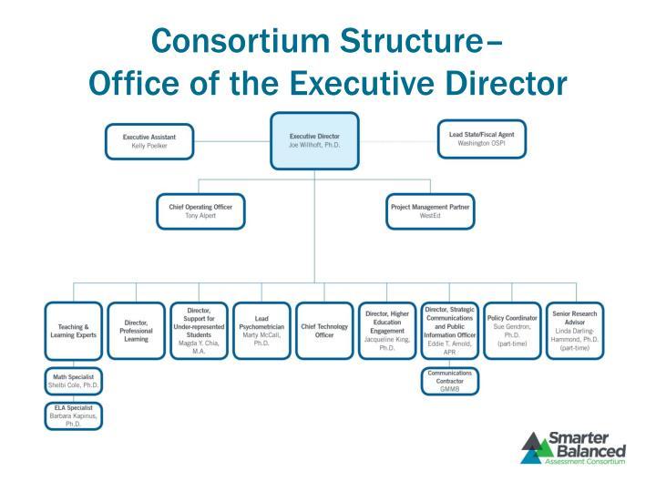 Consortium Structure–