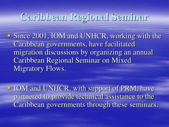 Caribbean Regional Seminar