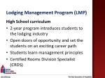 lodging management program lmp