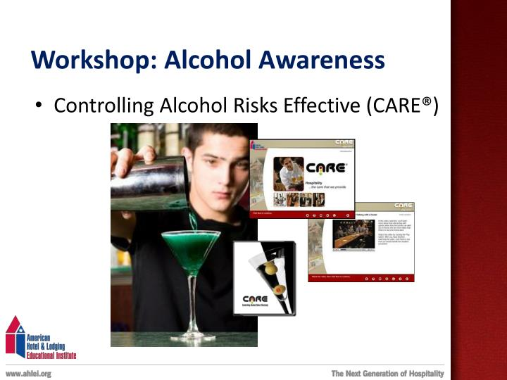 Workshop: Alcohol Awareness