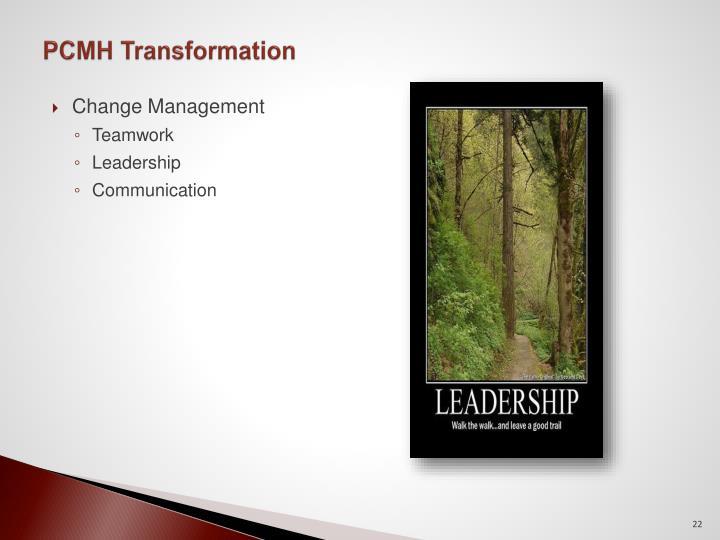 PCMH Transformation