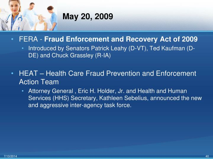 May 20, 2009