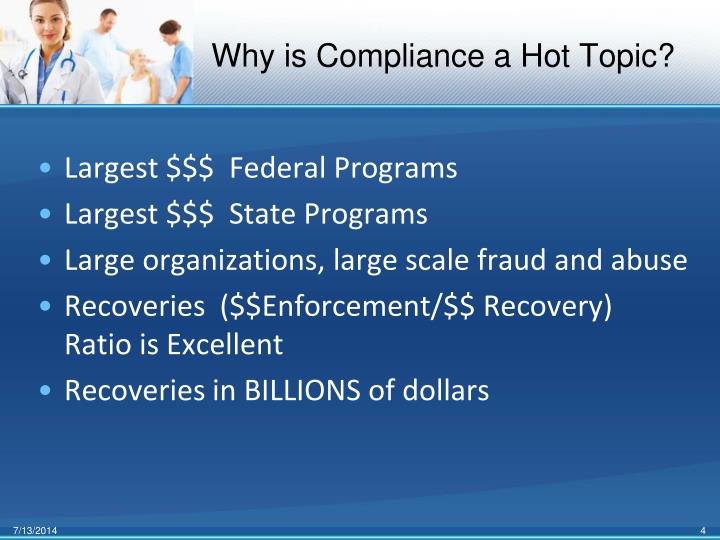 Why is Compliance a Hot Topic?