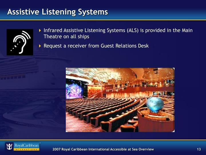 Assistive Listening Systems