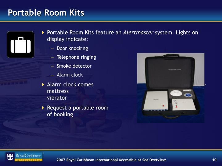 Portable Room Kits
