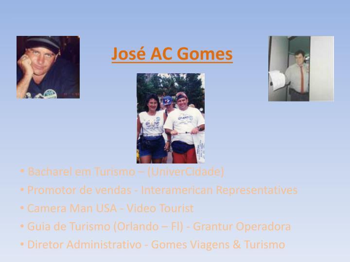 José AC Gomes