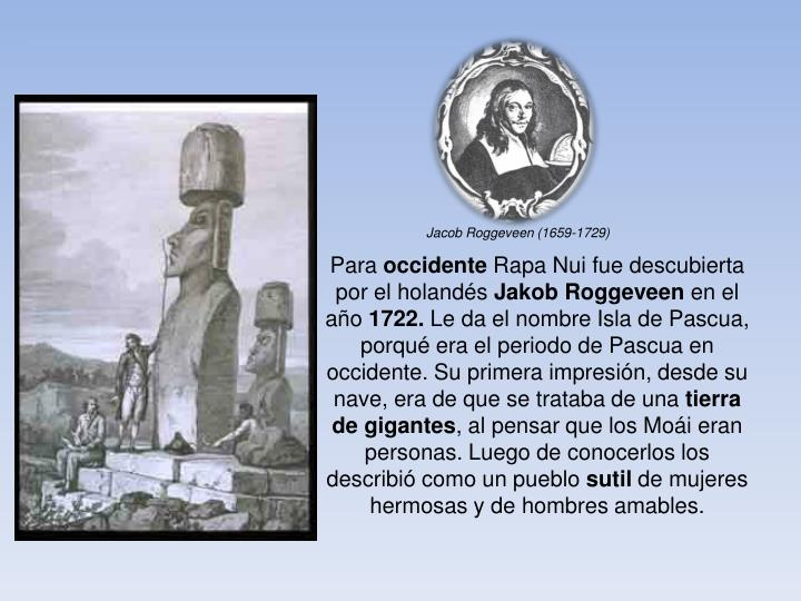 Jacob Roggeveen (1659-1729)