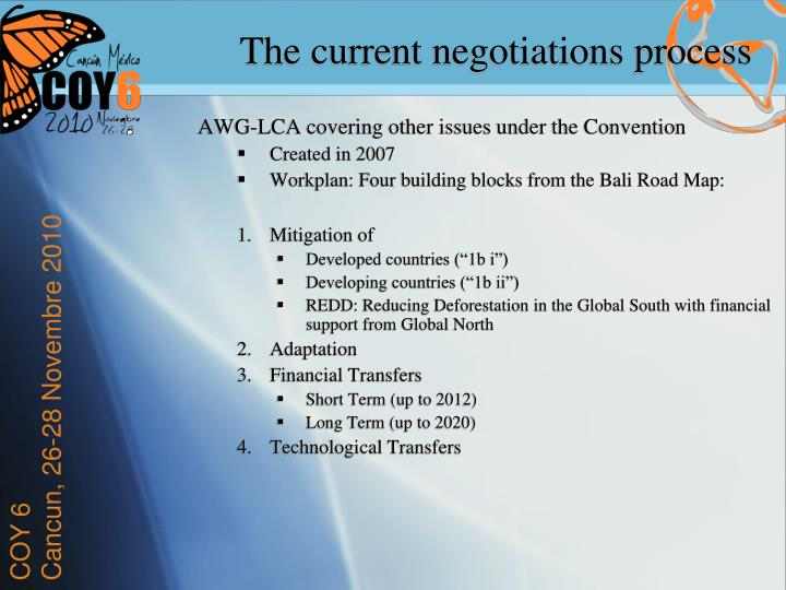AWG-LCA covering other issues under the Convention