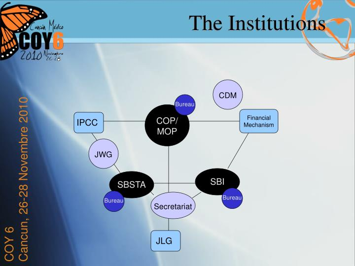 The Institutions