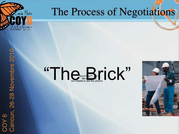 The Process of Negotiations