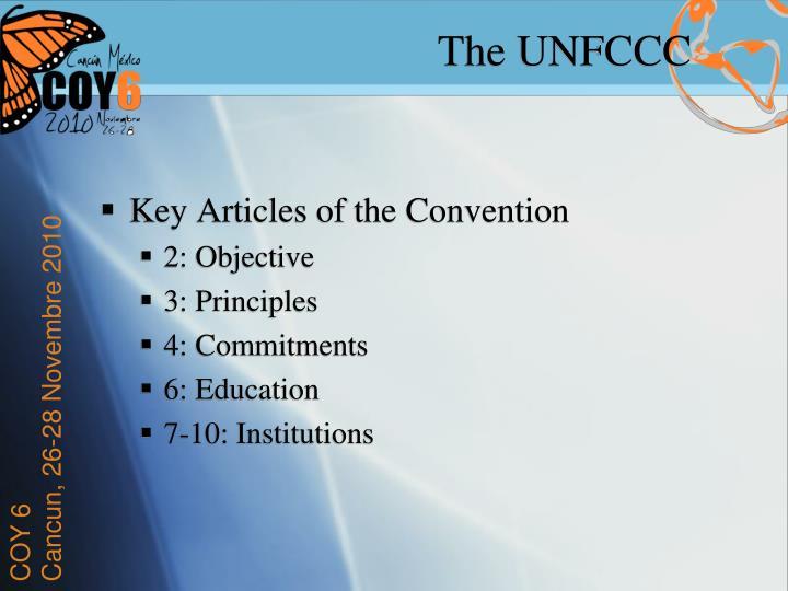 The UNFCCC