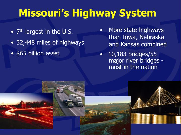 Missouri's Highway System