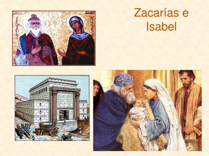 Zacarías e Isabel