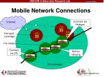 mobile network connections