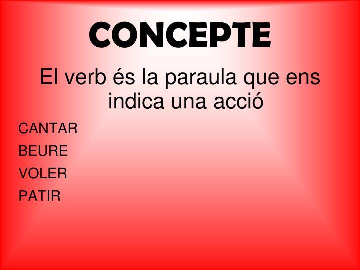 CONCEPTE