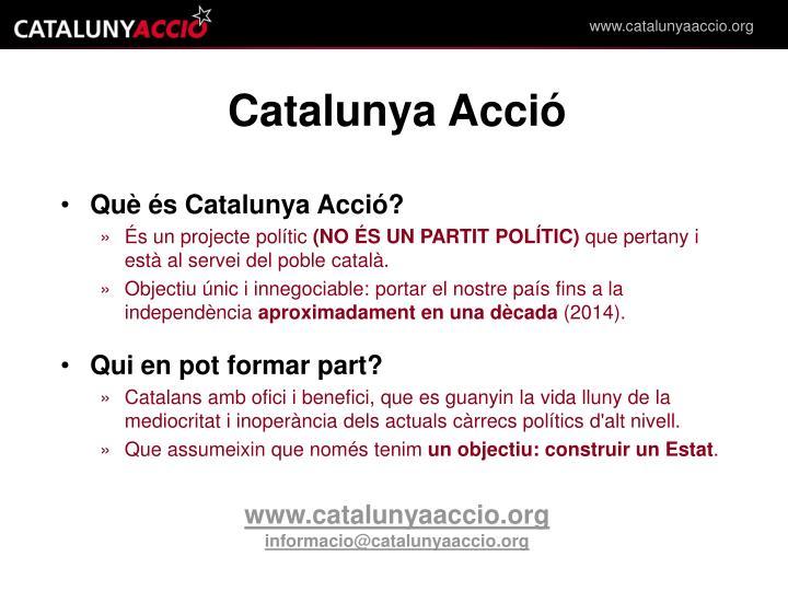 Catalunya Acció