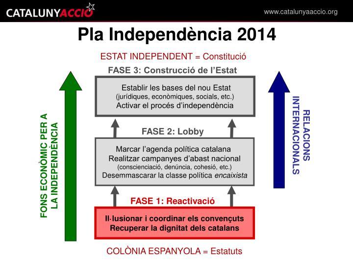 Pla Independència 2014