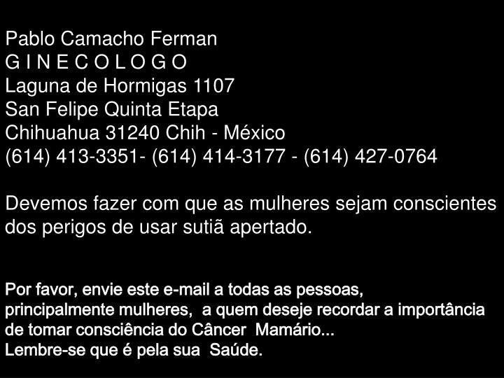 Pablo Camacho Ferman