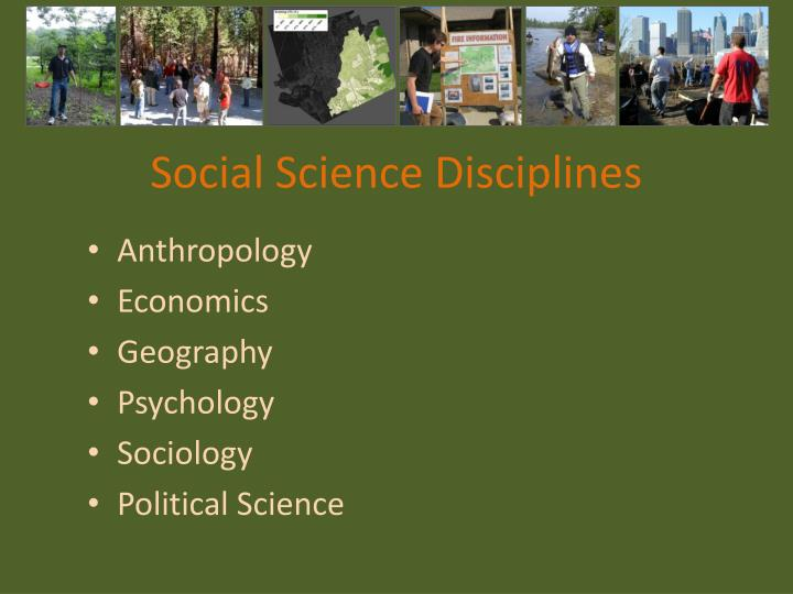 Social Science Disciplines