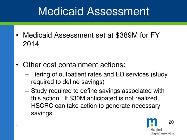 Medicaid Assessment