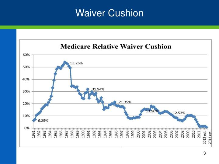 Waiver Cushion