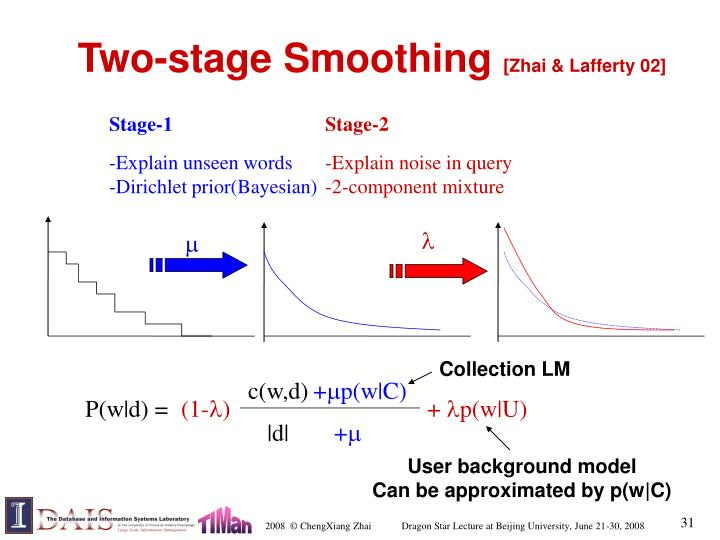 Two-stage Smoothing