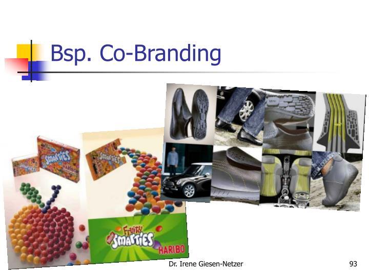 Bsp. Co-Branding