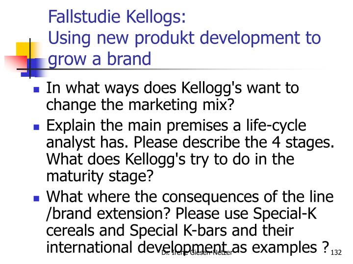 Fallstudie Kellogs: