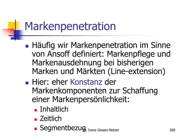 Markenpenetration