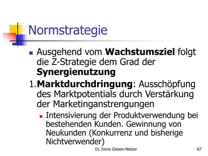 Normstrategie