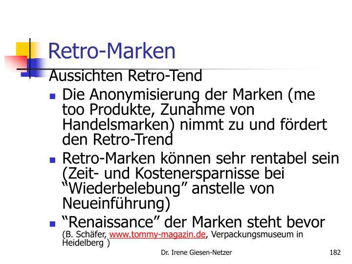 Retro-Marken