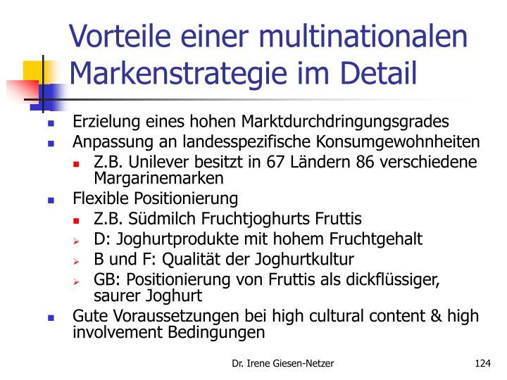 Vorteile einer multinationalen Markenstrategie im Detail