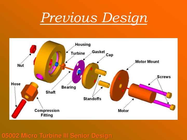 Previous Design