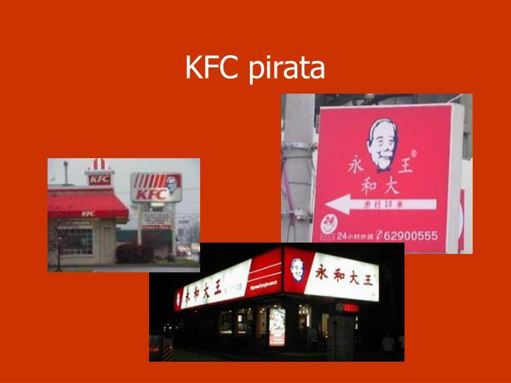 KFC pirata