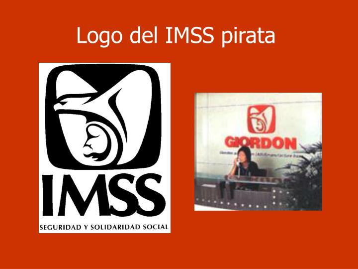 Logo del IMSS pirata