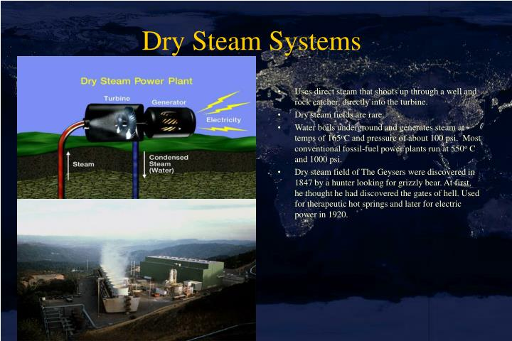 Dry Steam Systems