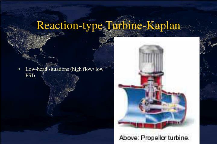 Reaction-type Turbine-Kaplan