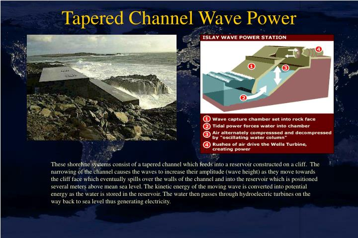 Tapered Channel Wave Power