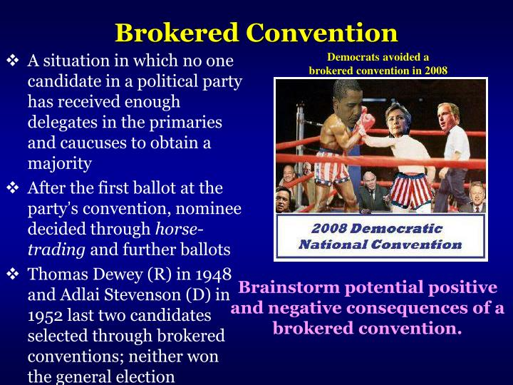 Brokered Convention