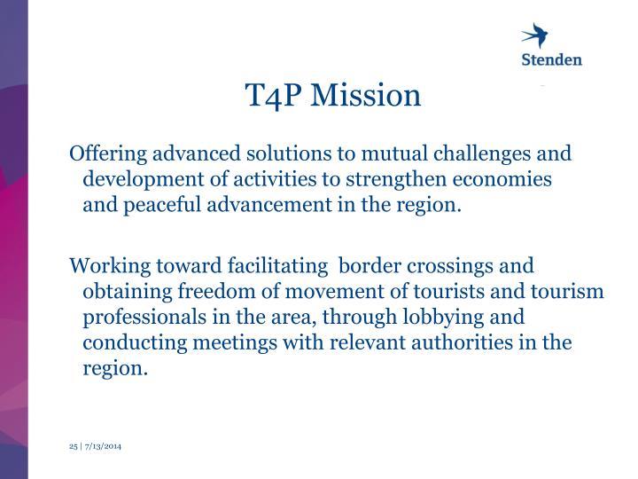 T4P Mission